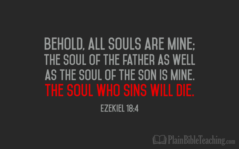 Ezekiel 18:4