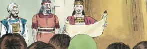 King Josiah and the scroll