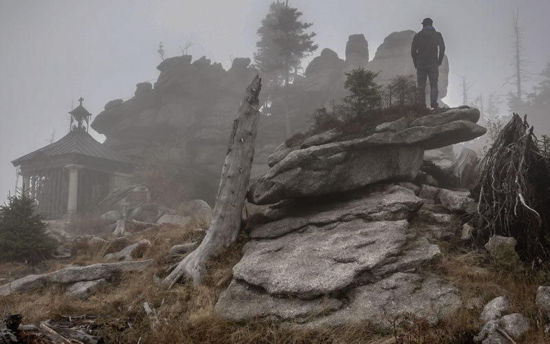 Standing in the Fog