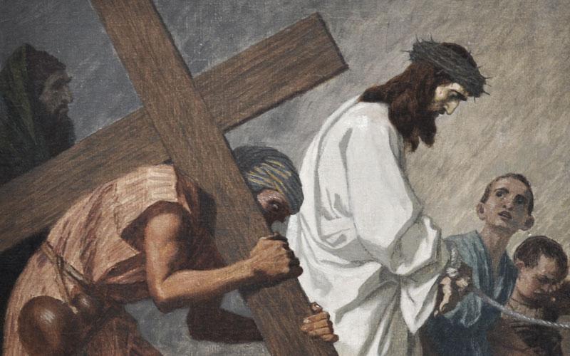 why was simon called to bear jesus cross plain bible teaching