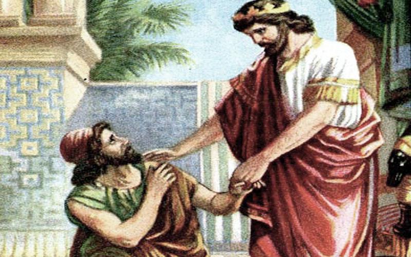 David and Mephibosheth