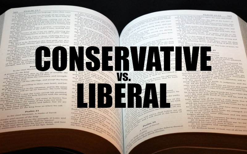 Conservative vs. Liberal