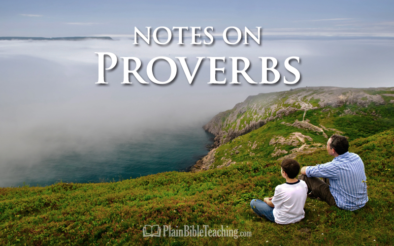 Notes on Proverbs