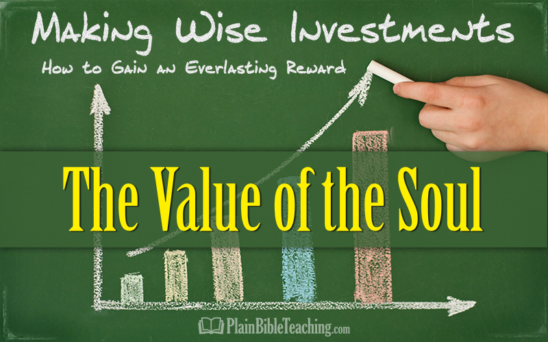 Making Wise Investments (Part 1): The Value of the Soul