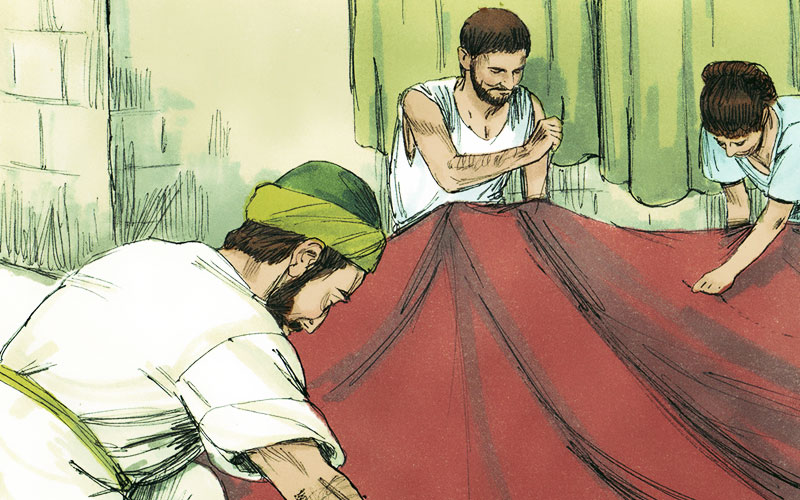 Paul Making Tents