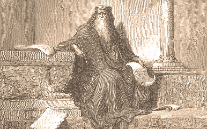 Solomon - old age