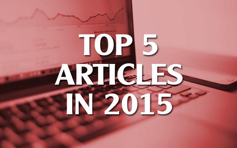Top 5 Articles in 2015