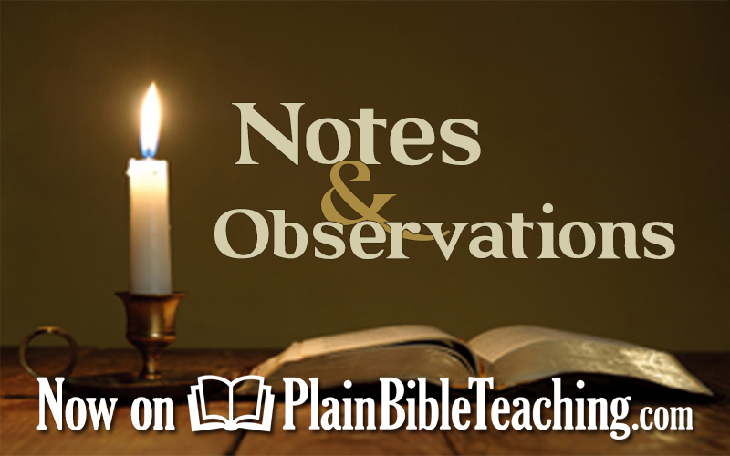 Notes & Observations