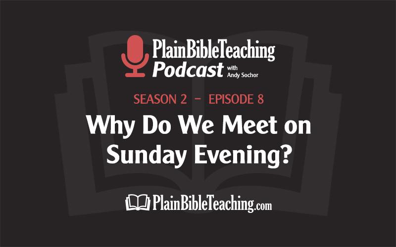 Why Do We Meet on Sunday Evening? (Season 2, Episode 8)