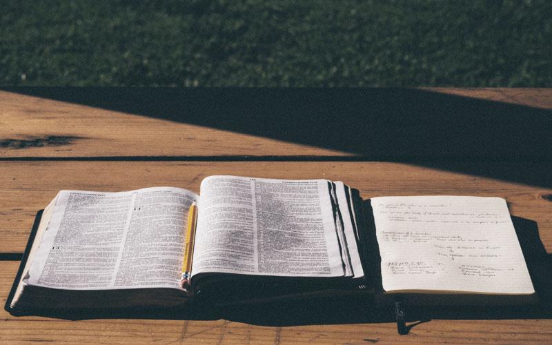 Bible Study - Outdoors