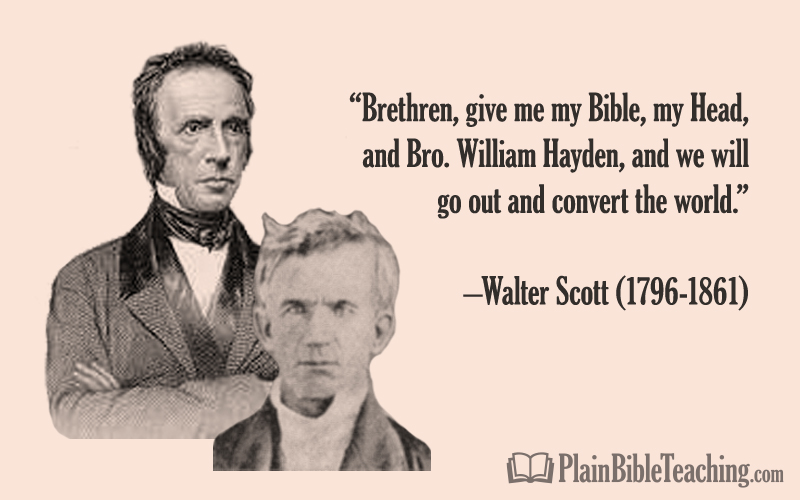 Walter Scott and William Hayden