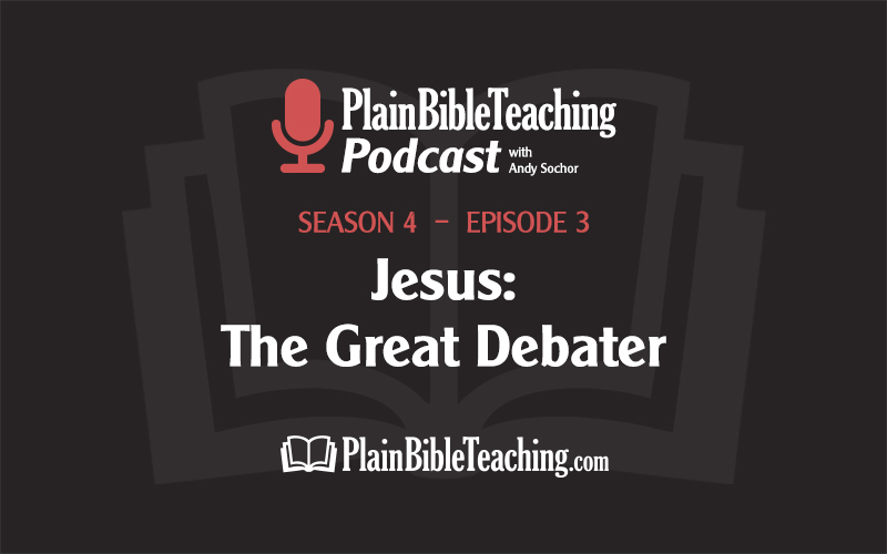 Jesus: The Great Debater (Season 4, Episode 3)