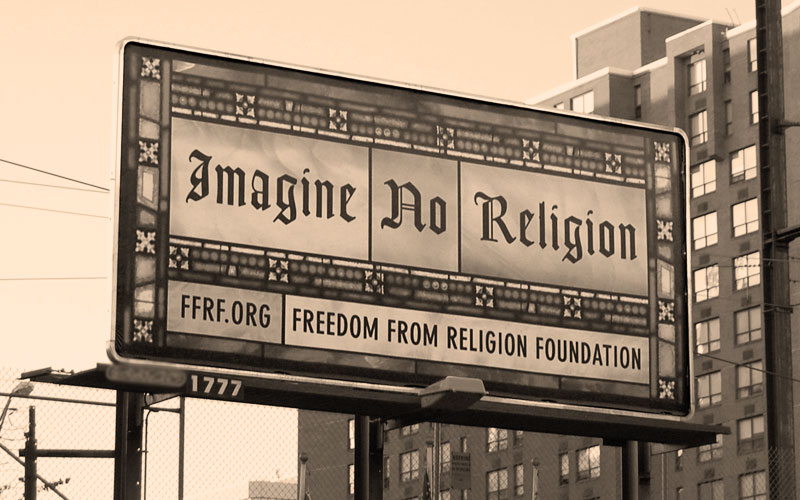 Imagine No Religion (billboard)