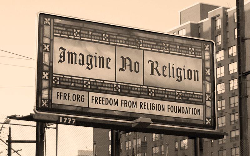 Imagine No Religion (billboard)