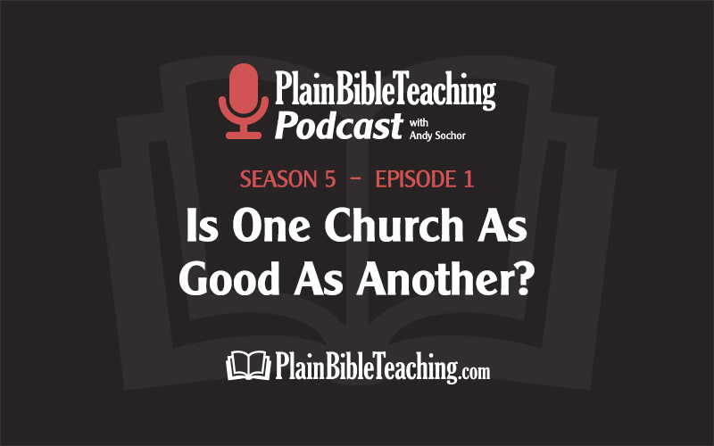 Is One Church As Good As Another? (Season 5, Episode 1)