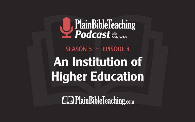 An Institution of Higher Education (Season 5, Episode 4)