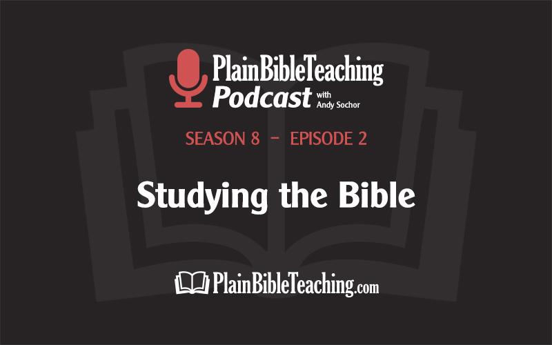Studying the Bible (Season 8, Episode 2)