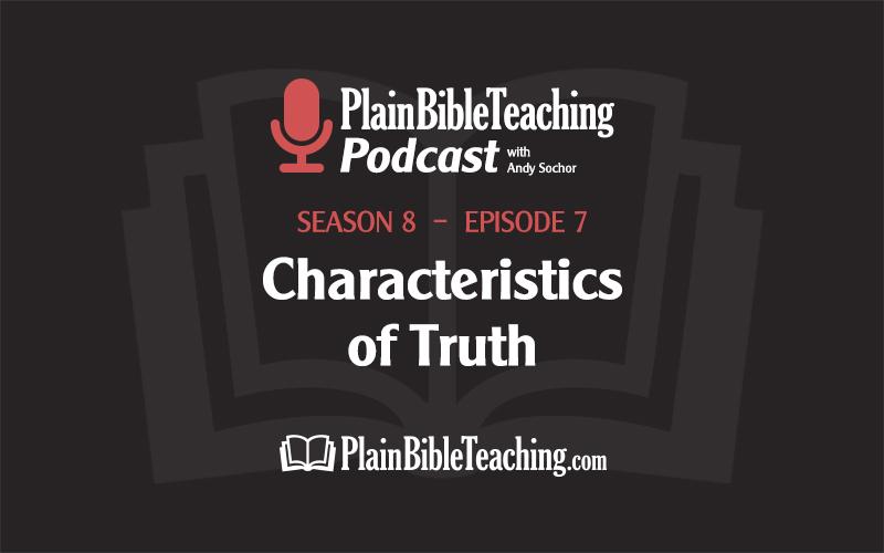 Characteristics of Truth (Season 8, Episode 7)