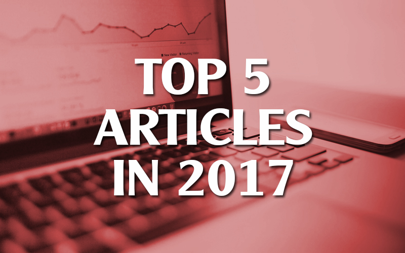 Top 5 Articles in 2017