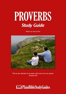 Proverbs Study Guide (cover)