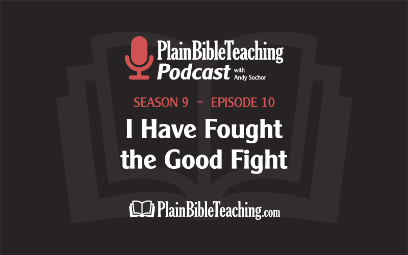 I Have Fought the Good Fight (Season 9, Episode 10)