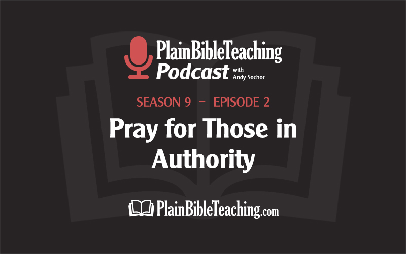 Pray for Those in Authority (Season 9, Episode 2)
