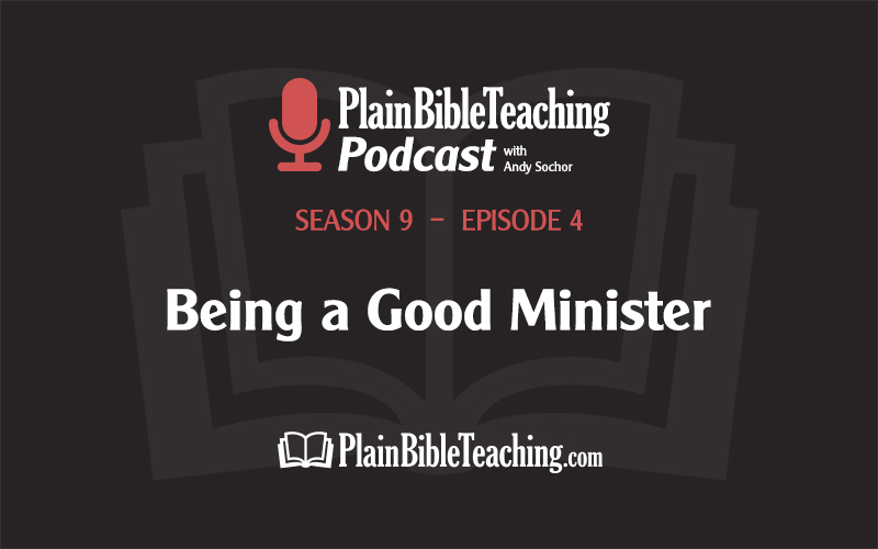 Being a Good Minister (Season 9, Episode 4)