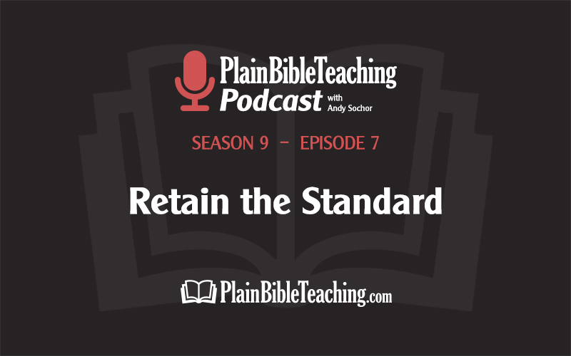 Retain the Standard (Season 9, Episode 7)