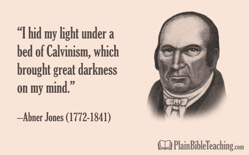 Abner Jones - I Hid My Light Under a Bed of Calvinism
