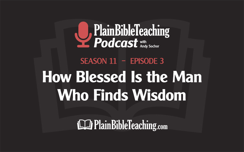 How Blessed Is the Man Who Finds Wisdom (Season 11, Episode 3)