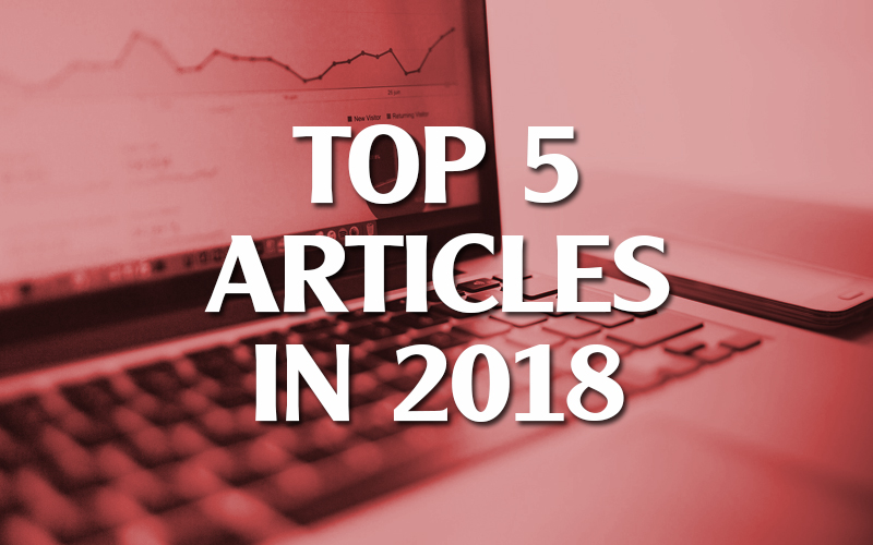 Top 5 Articles in 2018