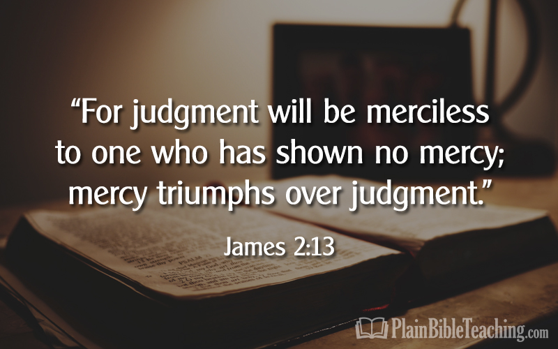 James 2:13