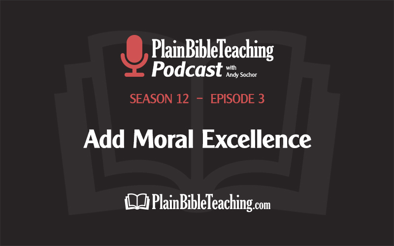 Add Moral Excellence (Season 12, Episode 3)