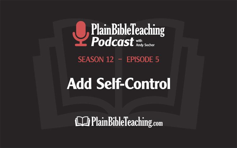 Add Self-Control (Season 12, Episode 5)