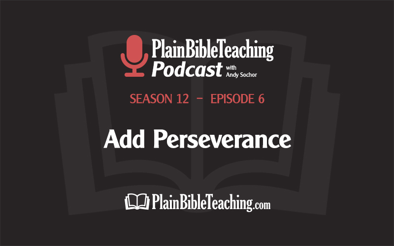 Add Perseverance (Season 12, Episode 6)