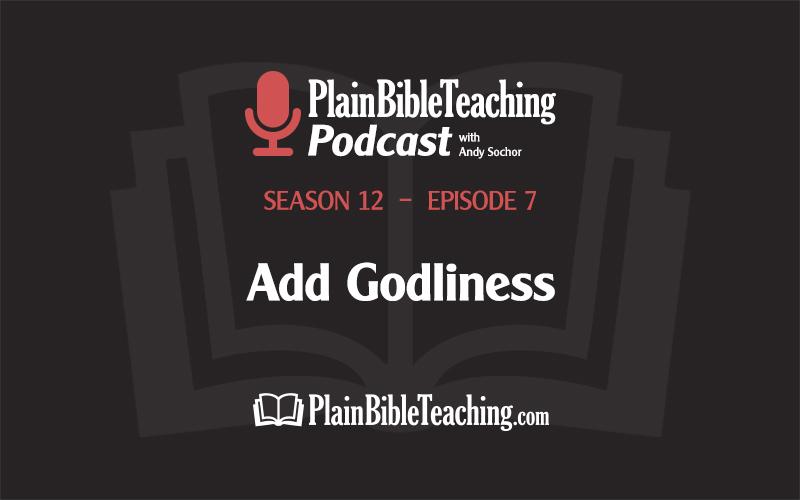 Add Godliness (Season 12, Episode 7)