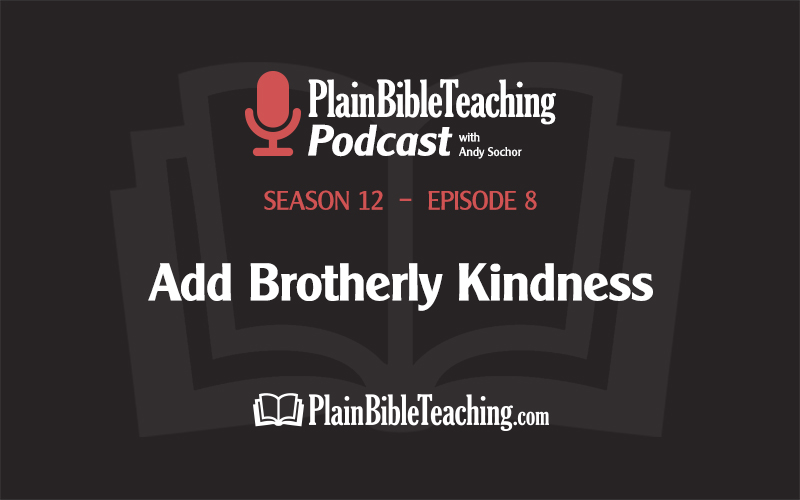 Add Brotherly Kindness (Season 12, Episode 8)