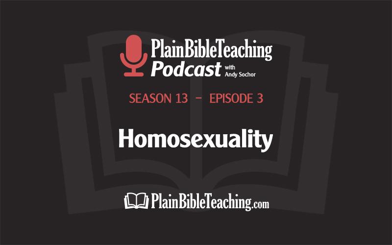 Homosexuality (Season 13, Episode 3)