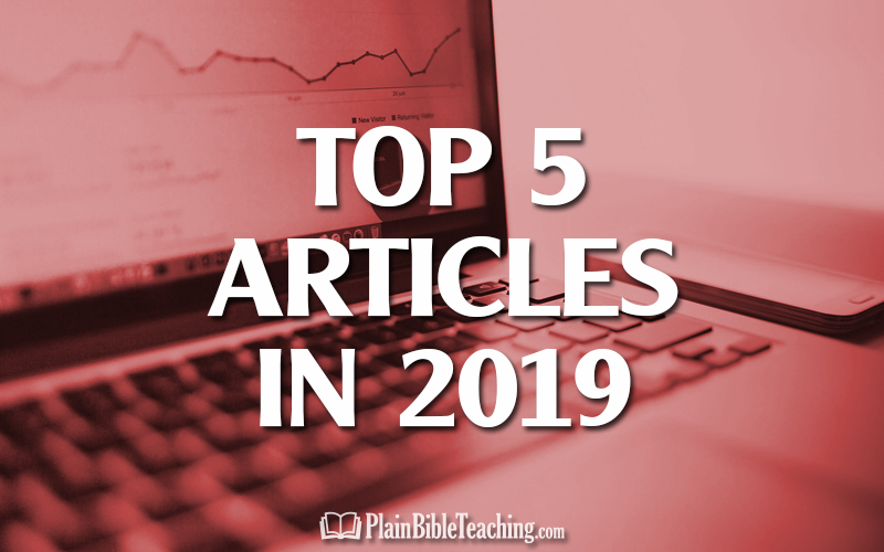 Top 5 Articles of 2019