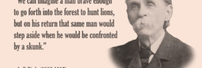 L. F. Bittle: Lions and Skunks