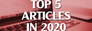 Top 5 Articles in 2020